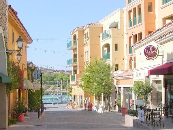 Lake Las Vegas Village Restaurants
